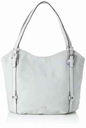 Tamaris Malou Shopping Bag Womens Grey (Light Comb) 15x33x48 cm (W x H L)
