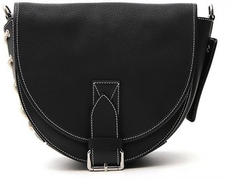 J.W.Anderson Front Flap Leather Shoulder Bag