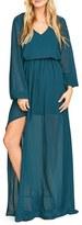 Show Me Your Mumu Women's Jocelyn Blouson Gown
