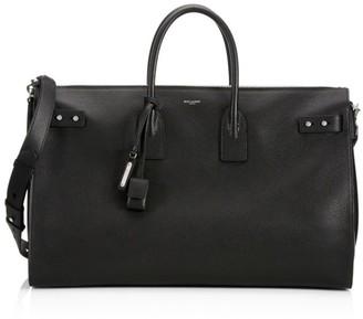 Saint Laurent Sac Du Jour Leather Duffle Bag