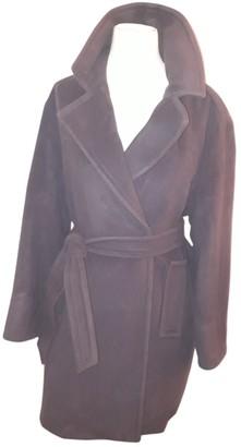 Georges Rech Grey Wool Coat for Women