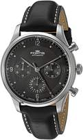 Fortis Men's 904.21.11 L Tycoon Chronograph p.m. Analog Display Automatic Self Wind Watch