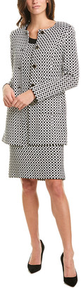St. John Wool-Blend Jacket
