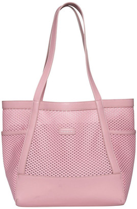 Mocha Summer Beach Bag - Blush