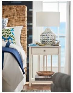 "Coastal Livingâ""¢ By Universal Furniture Bedside 1 Drawer Nightstand Coastal Livinga by Universal Furniture"