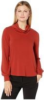 Karen Kane Cowl Neck Sweater (Rust) Women's Sweater