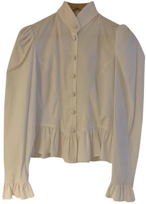 Batsheva White Cotton Tops