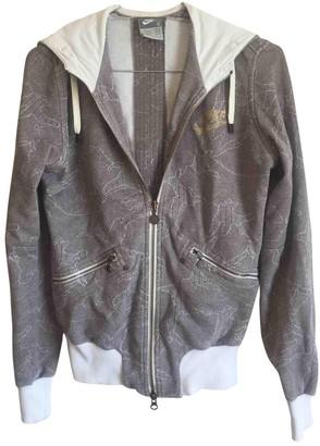Nike Brown Cotton Jacket for Women