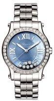 Chopard 36mm Happy Sport Automatic Bracelet Watch with Diamonds