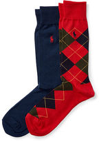 Polo Ralph Lauren Argyle Trouser Sock 2-Pack