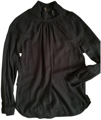 Essentiel Antwerp Black Cotton Top for Women