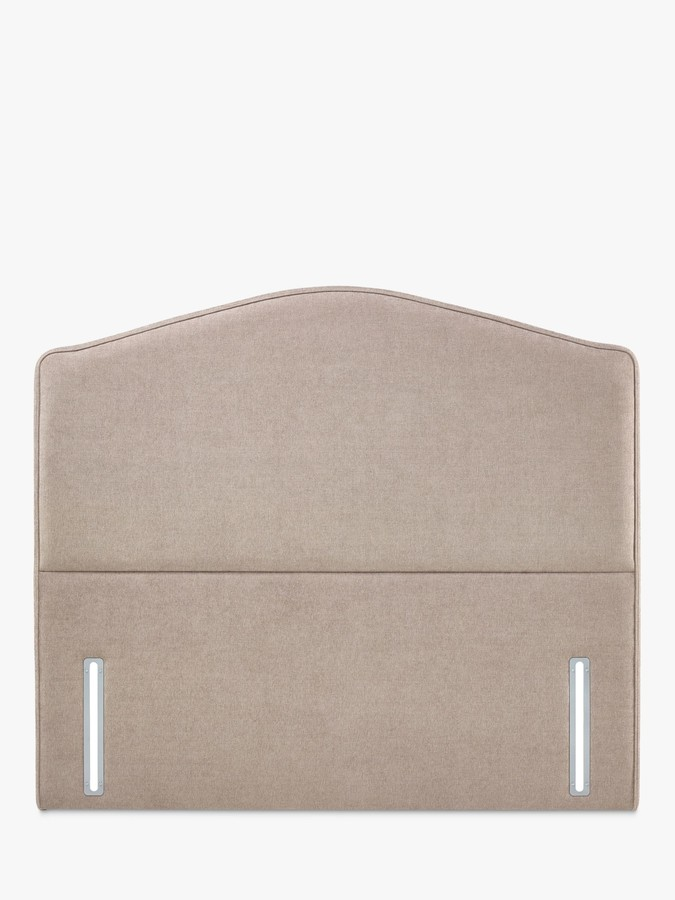 John Lewis & Partners Natural Collection Richmond Upholstered Headboard, Large Emperor, Erin Mole