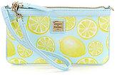 Dooney & Bourke Limone Collection Lemon Large Slim Wristlet