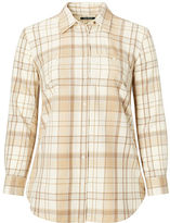 Ralph Lauren Woman Plaid Cotton Shirt