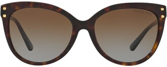 Michael Kors Tinted Cat Eye Sunglasses