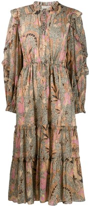 Ulla Johnson paisley flared dress