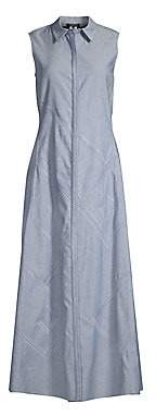 Lafayette 148 New York Women's Ryden Sleeveless Shirt Dress