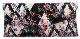 LK Bennett Embossed Floral Clutch