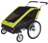 Infant Thule Chariot Cheetah Xt 2 Multisport Double Cycle Trailer/stroller