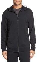 Daniel Buchler Men's Stretch Triblend Zip Hoodie