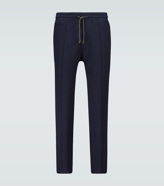 Brunello Cucinelli Cotton jersey trackpants