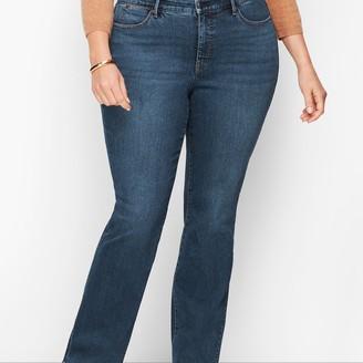Talbots Plus Size Barely Boot Jeans - Lexington Wash