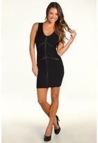 Stretta - Chere Dress (Black Solid) - Apparel
