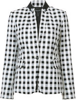 Rag & Bone checkered blazer - women - Cotton/Polyamide/Spandex/Elastane - 6