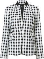 Rag & Bone checkered blazer