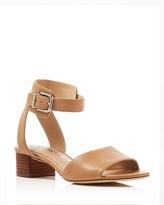 Via Spiga Tahara Low Heel Ankle Strap Sandals