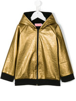 Bang Bang Copenhagen Gold Fever hooded jacket