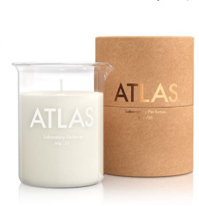 Laboratory Perfumes Atlas Scented Candle- Inspired by Moroccos Atlas Mountains - White