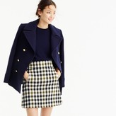 J.Crew Petite mini skirt in oxford check