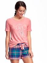 Old Navy Relaxed Graphic Crew-Neck Tee for Women