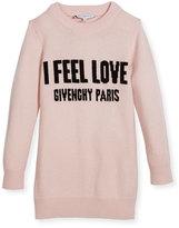 Givenchy I Feel Love Knit Dress, Size 12-14