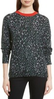Equipment Women's Melanie Leopard Print Cashmere Sweater