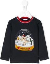 Dolce & Gabbana Mimmo The Dog print top