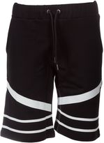 Les Hommes Printed Shorts
