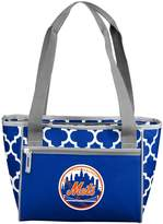 Logo Brand New York Mets 16-Can Cooler Tote