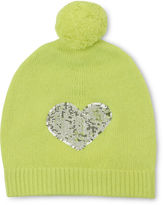 Whistles LC Sequin Heart Hat