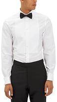 Jaeger Marcella Bib Slim Fit Dress Shirt, White