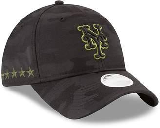 New Era Women's Black New York Mets 2018 Memorial Day 9TWENTY Adjustable Hat