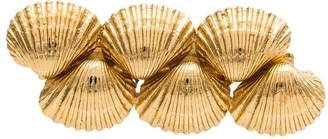 Puka Tohum shell hair slide trio