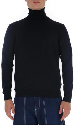 Prada Turtleneck Knitted Pullover