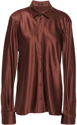 Joseph Silk-satin Shirt