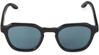 Barton Perreira Tucker 49MM Round Sunglasses