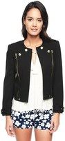 Juicy Couture Pitch Black Ponte Moto Jacket