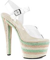 Pleaser USA Women's Sky 308ESP Ankle-Strap Sandal