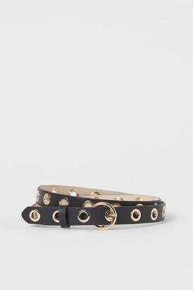 H&M Grommet-detail Belt