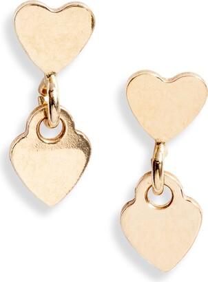 Set & Stones Charlie Heart Earrings